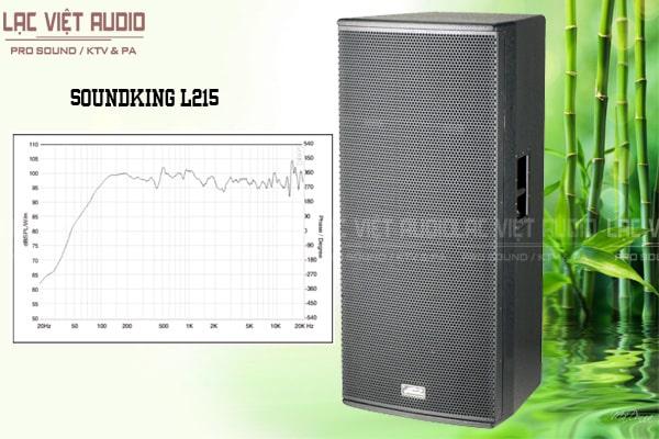 Thiết kế bên ngoài của sản phẩm Loa soundking L215