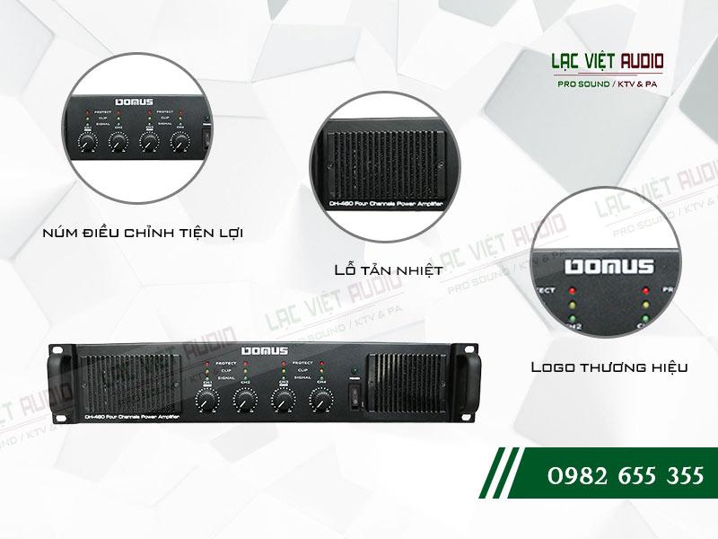 Các tính năng nổi bật của sản phẩm Cục đẩy công suất Domus DH 460