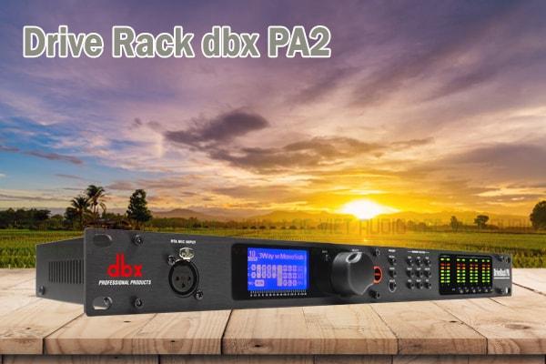 Tính năng của sản phẩm Drive Rack dbx PA2