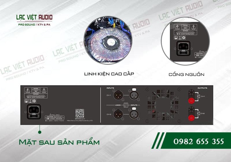 Các tính năng nổi bật của sản phẩm Cục đẩy công suất Famousound 3206