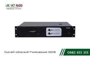 Giới thiệu về sản phẩm Cục đẩy công suất Famousound 3208