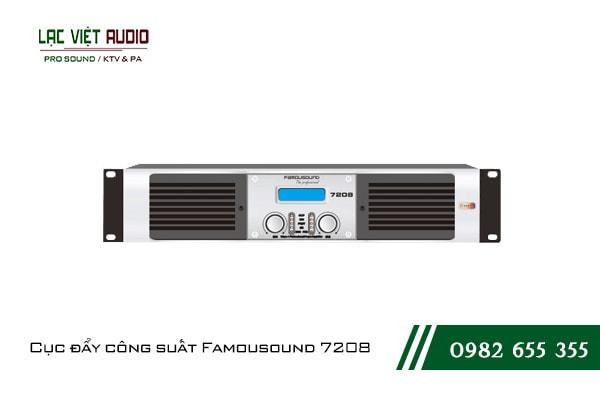 Giới thiệu về sản phẩm Cục đẩy công suất Famousound 7208