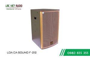 Giới thiệu về sản phẩm Loa CA Sound F212