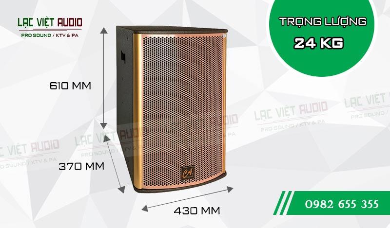 Thiết kế bên ngoài của sản phẩm Loa CA Sound F212