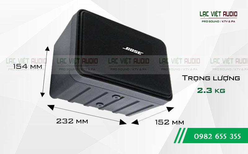 Thiết kế của thiết bị Loa Bose 101