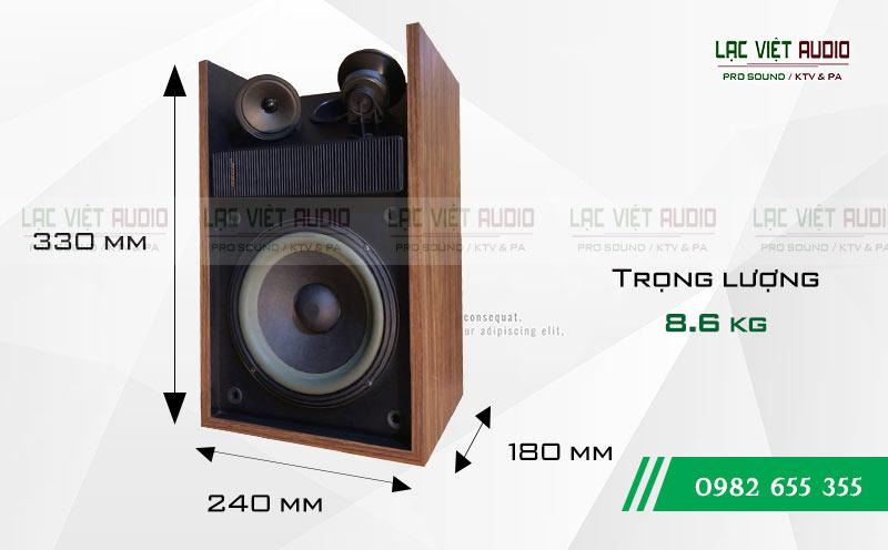 Thiết kế của thiết bị Loa Bose 301 seri II