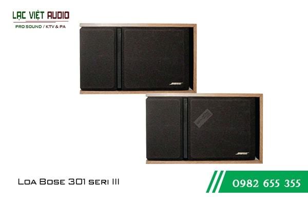 Giới thiệu về sản phẩm Loa Bose 301 seri III
