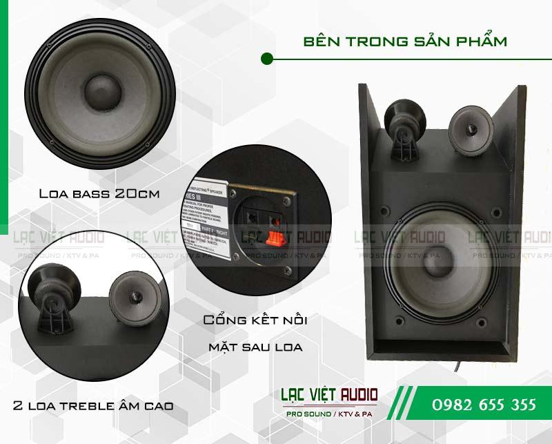 Tính năng của thiết bị Loa Bose 301 seri III