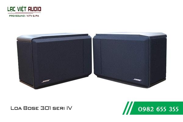 Giới thiệu về sản phẩm Loa Bose 301 seri IV