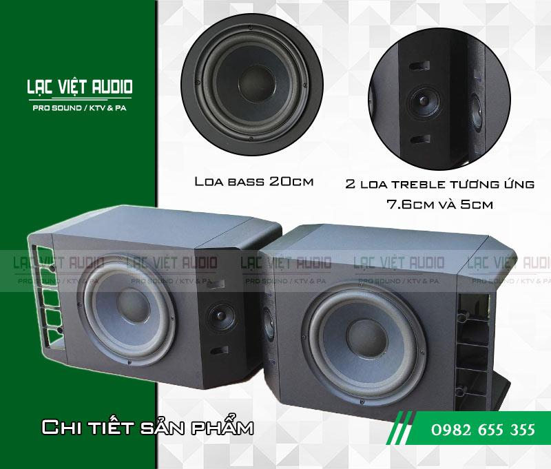 Tính năng của thiết bị Loa Bose 301 seri IV