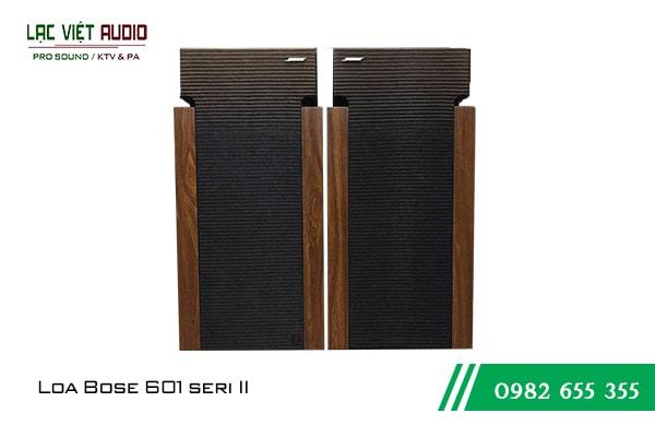 Giới thiệu về sản phẩm Loa Bose 601 seri II