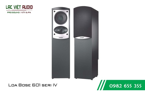 Giới thiệu về sản phẩm Loa Bose 601 seri IV