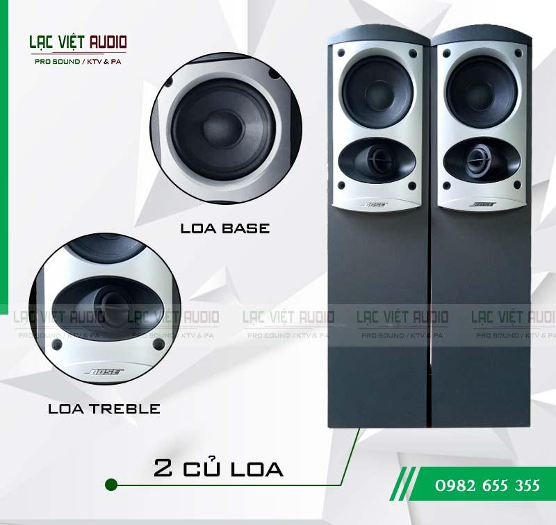 Tính năng nổi bật của sản phẩm Loa Bose 601 seri IV