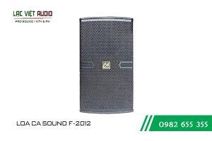Giới thiệu về sản phẩm Loa CA Sound F2012