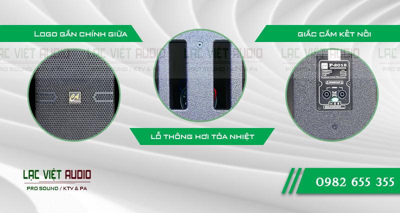 Các đặc điểm nổi bật của sản phẩm Loa CA Sound F2012