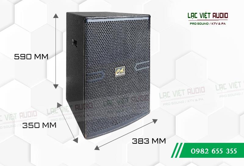 Thiết kế bên ngoài của sản phẩm Loa CA Sound F2012