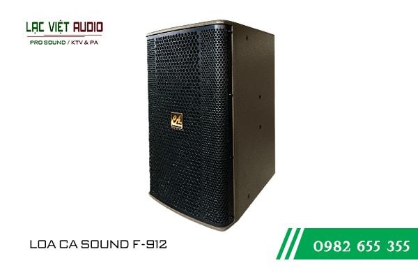 Giới thiệu về sản phẩm Loa CA Sound F912