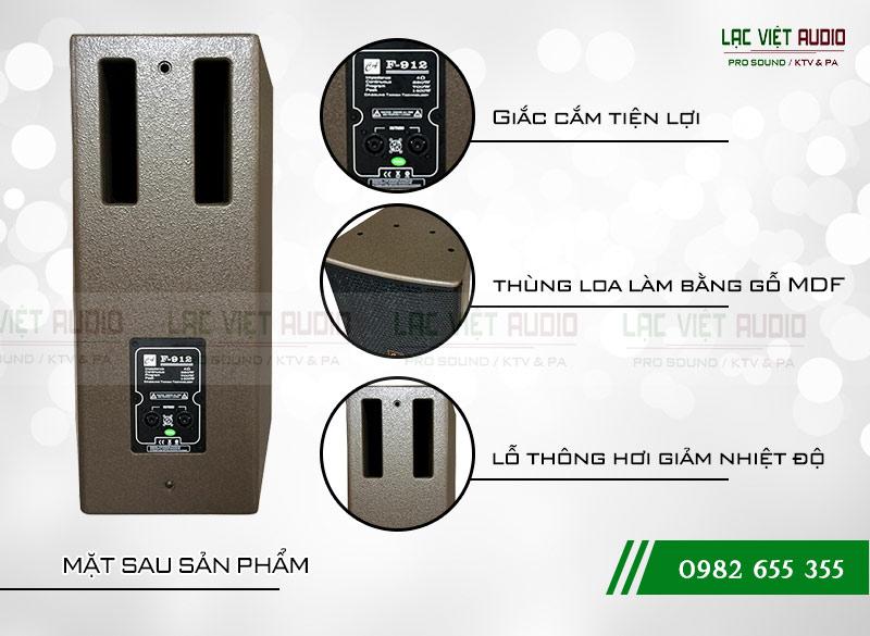Các đặc điểm nổi bật của sản phẩm Loa CA Sound F912