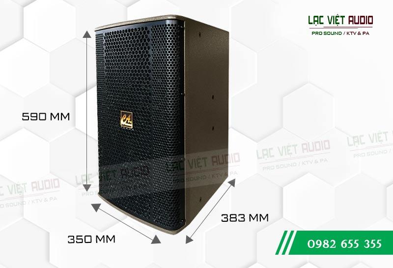 Thiết kế bên ngoài của sản phẩm Loa CA Sound F912