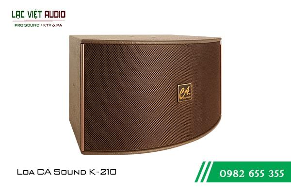 Giới thiệu về sản phẩm Loa CA Sound K210