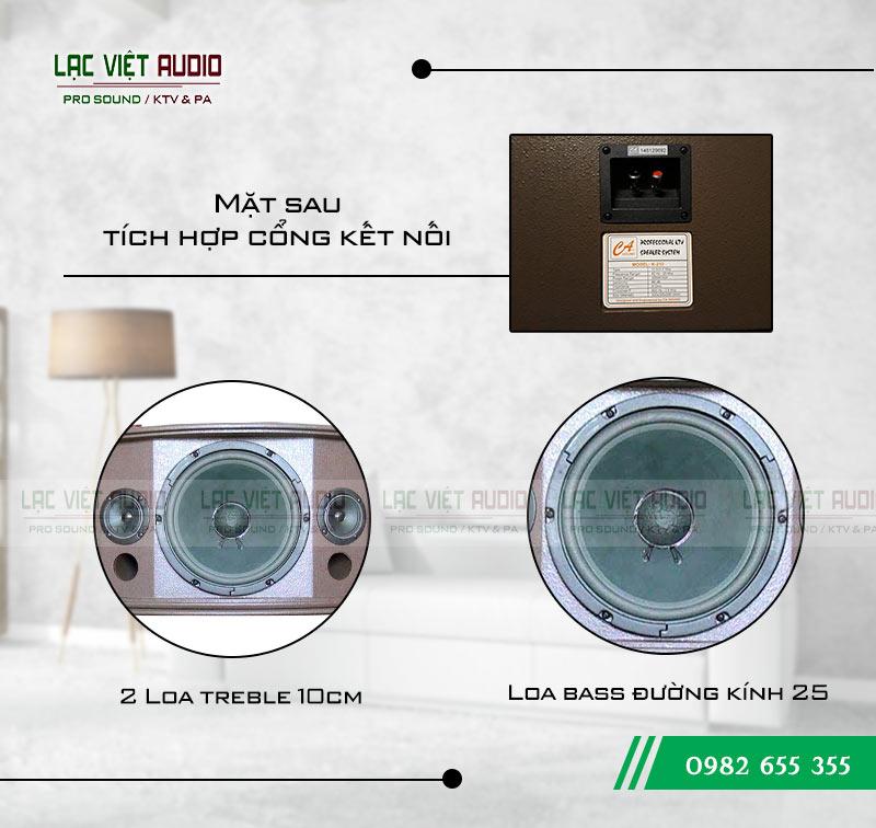 Tính năng nổi bật của sản phẩm Loa CA Sound K210