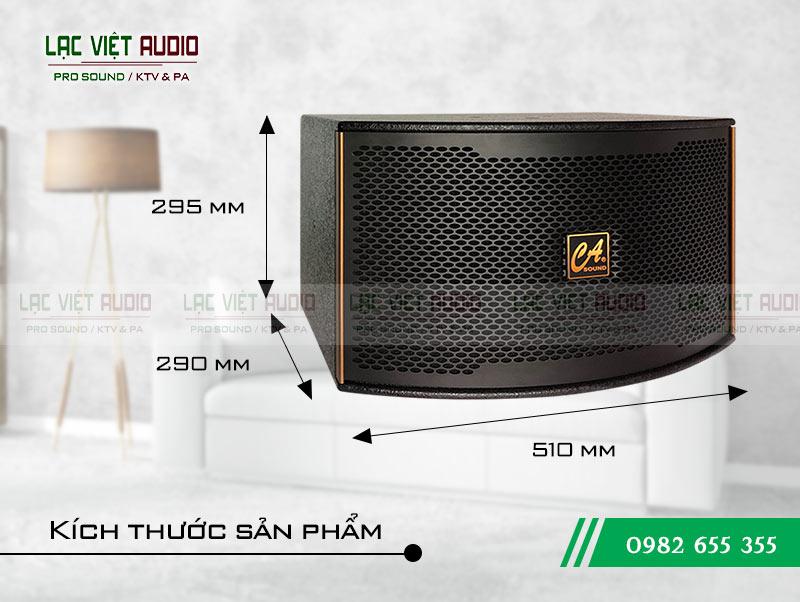 Thiết kế của sản phẩm Loa CA Sound K310