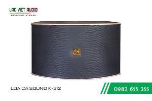 Giới thiệu về sản phẩm Loa CA Sound K312