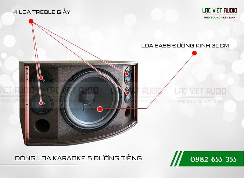 Các đặc điểm nổi bật của sản phẩm Loa CA Sound K312