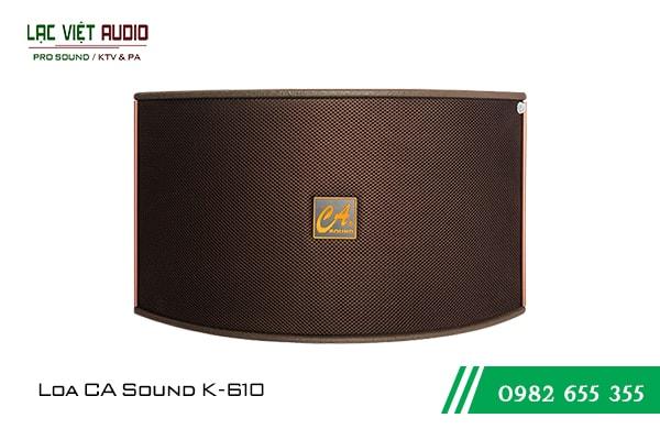Giới thiệu về sản phẩm Loa CA Sound K610