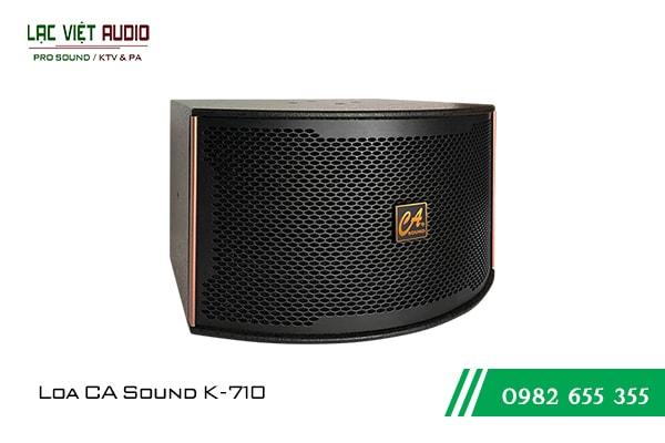 Giới thiệu về sản phẩm Loa CA Sound K710