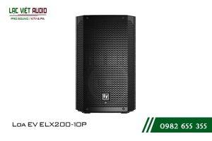 Giới thiệu về sản phẩm Loa EV ELX200 10P