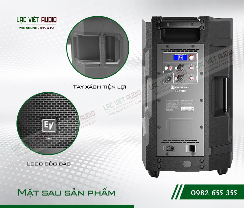 Tính năng của sản phẩm Loa EV ELX200 10P