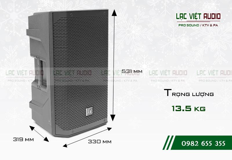 Thiết kế của sản phẩm Loa EV ELX200 10P
