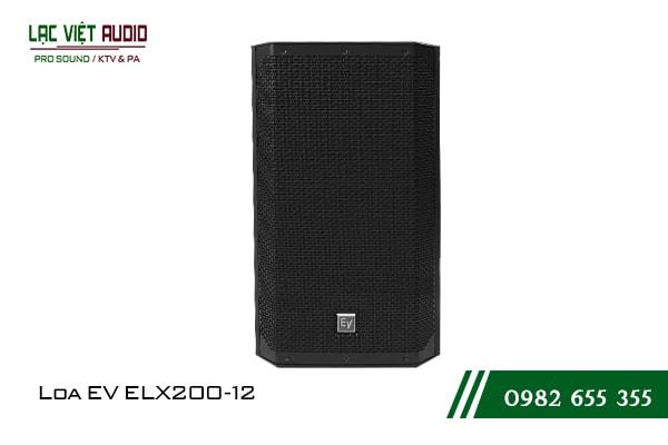 Giới thiệu về sản phẩm Loa EV ELX200 12