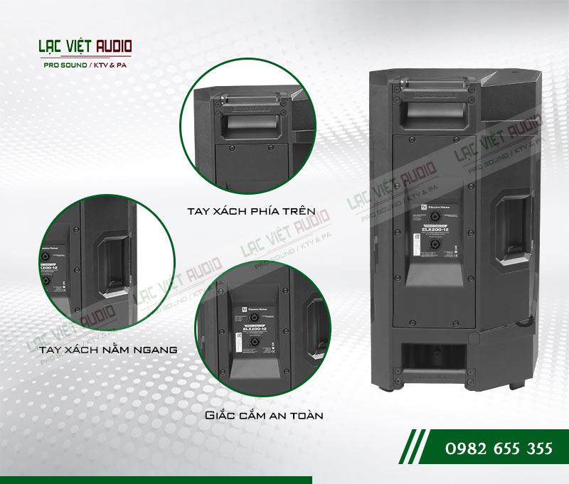 Các tính năng nổi bật của sản phẩm Loa EV ELX200 12