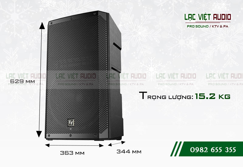 Thiết kế của sản phẩm Loa EV ELX200 12P