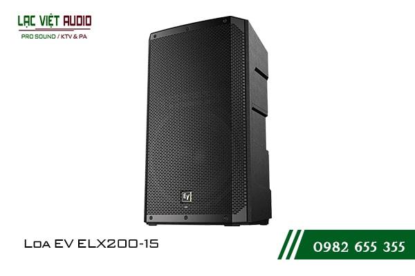 Giới thiệu về sản phẩm Loa EV ELX200 15