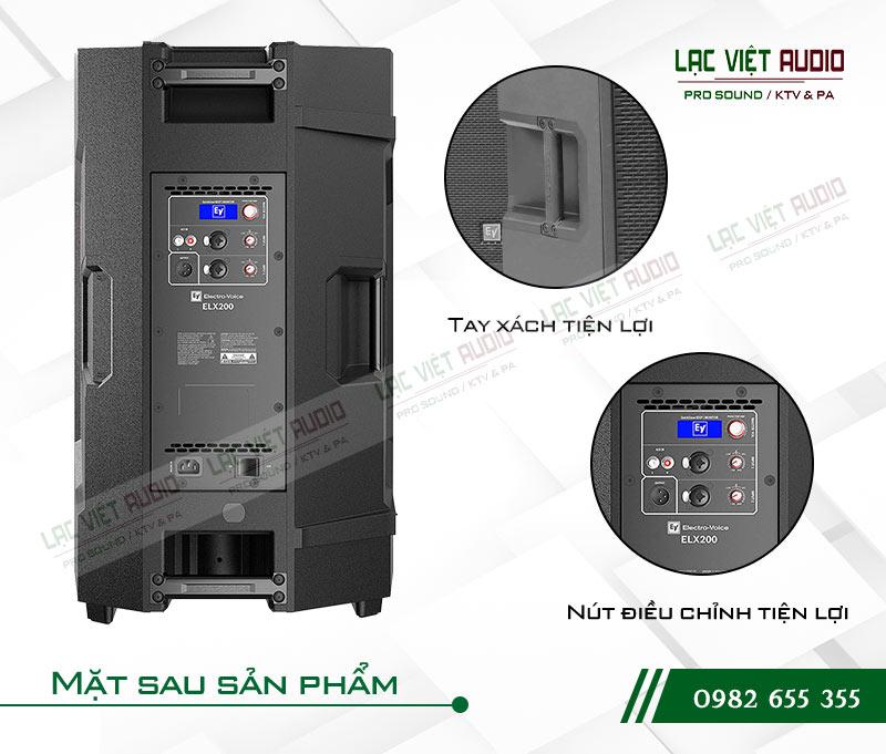 Tính năng của sản phẩm Loa EV ELX200 15P