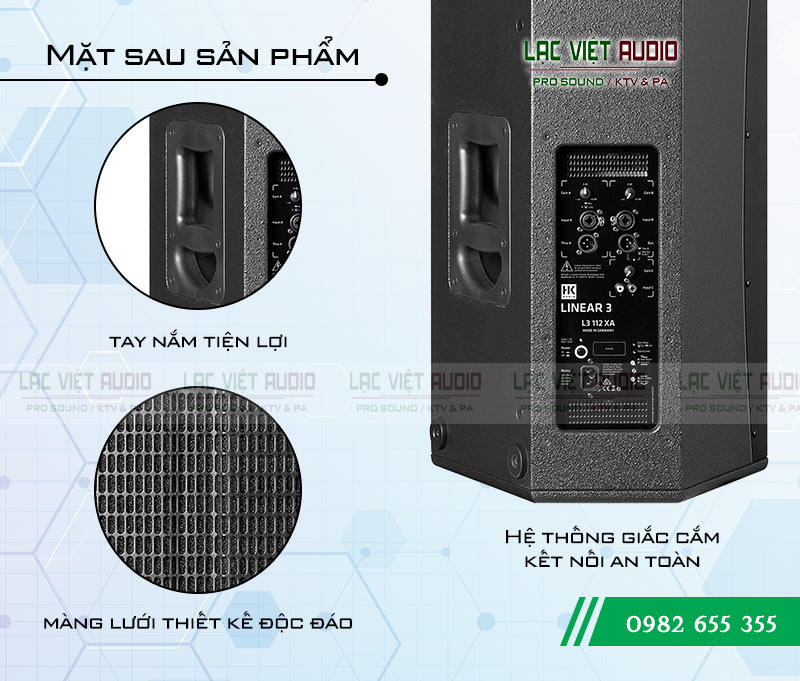 Tính năng nổi bật của sản phẩm Loa HK L3 112XA