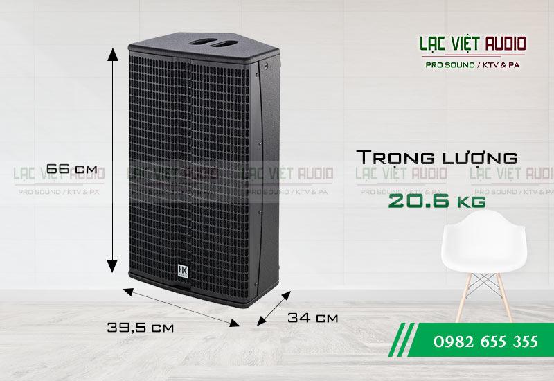 Thiết kế của sản phẩm Loa HK L3 112XA