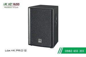 Giới thiệu về sản phẩm Loa HK PRO 12