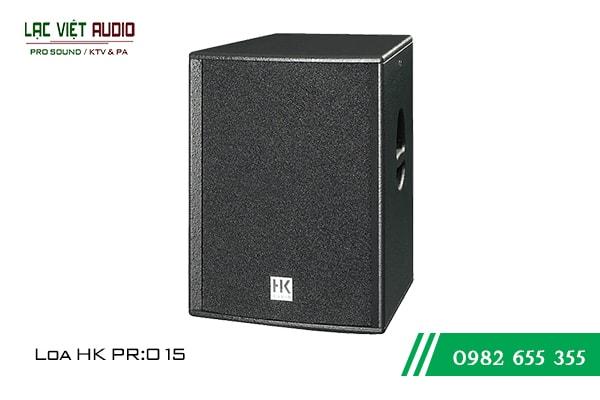 Giới thiệu về sản phẩm Loa HK PRO 15