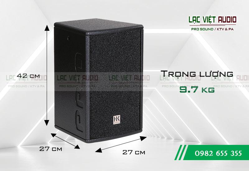 Thiết kế của sản phẩm Loa HK PRO 8