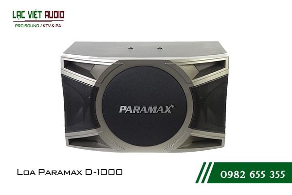 Giới thiệu về sản phẩm Loa Paramax D1000