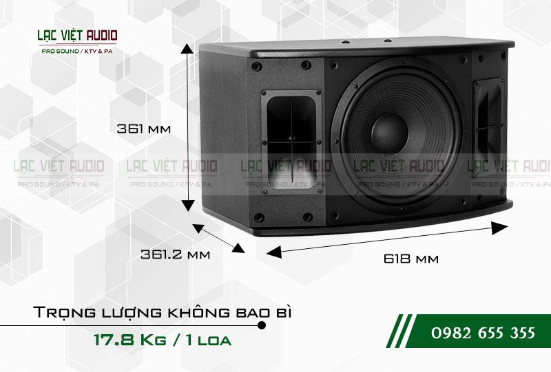 Thiết kế của sản phẩm Loa Paramax SAS S500