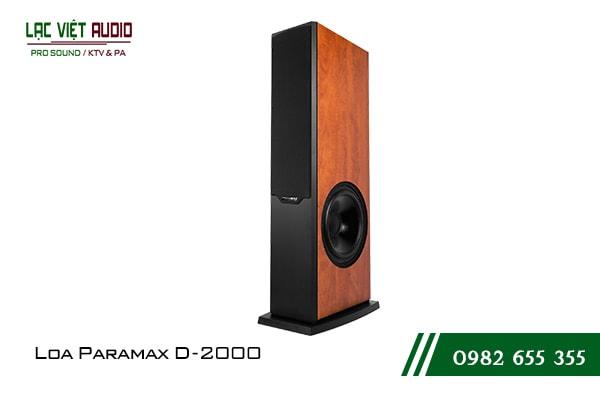 Giới thiệu về sản phẩm Loa Paramax D2000