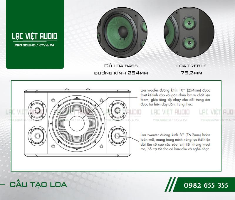Các tính năng nổi bật của sản phẩm Loa Paramax K1000 NEW