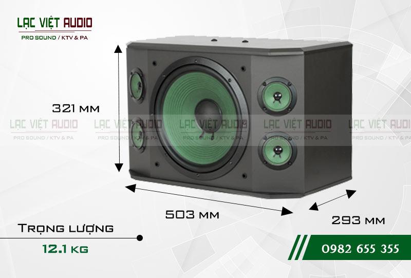Thiết kế của sản phẩm Loa Paramax K1000 NEW