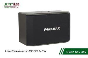 Giới thiệu về sản phẩm Loa Paramax K2000 NEW