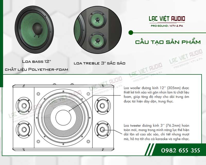 Các tính năng nổi bật của sản phẩm Loa Paramax K2000 NEW